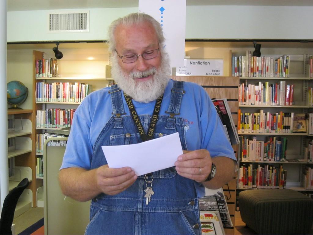 Alton Jones steps into the Poet's Circle!