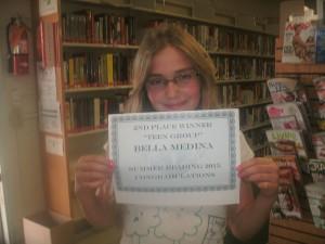 SRP 2015 Teen 2nd Place Bella Medina