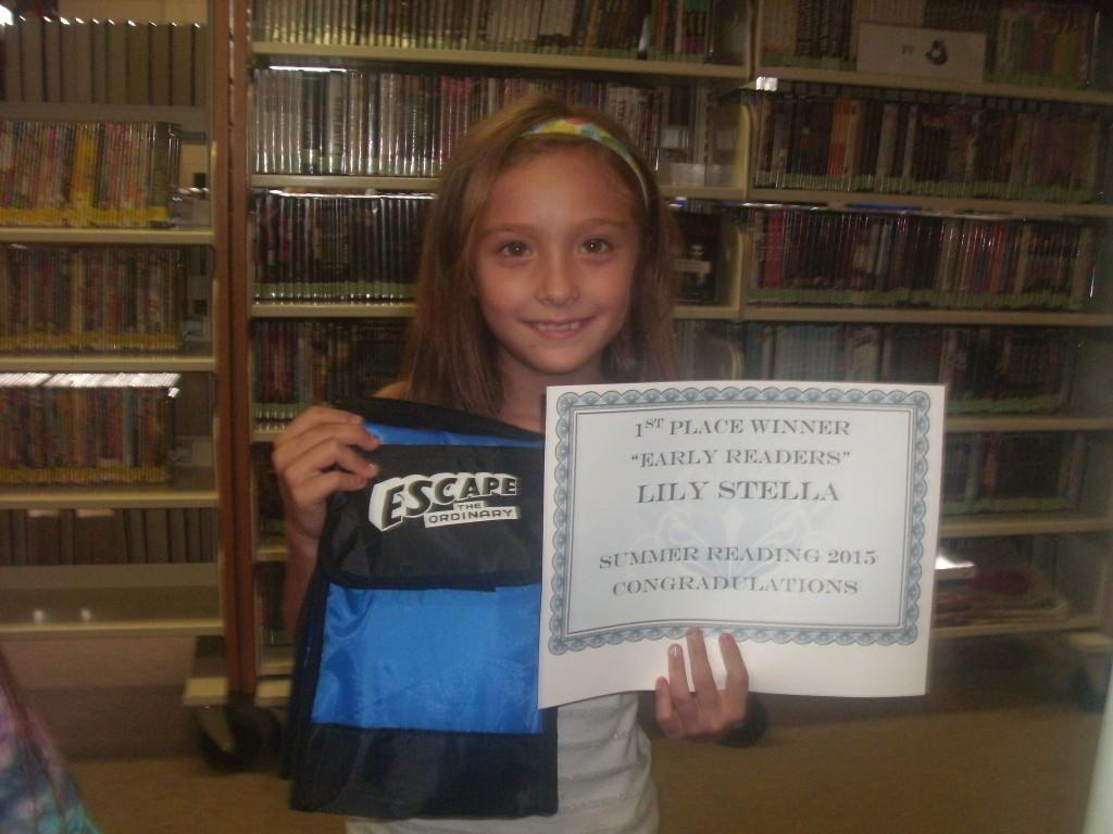 SRP 2015 Childrens Winner Lily Stella