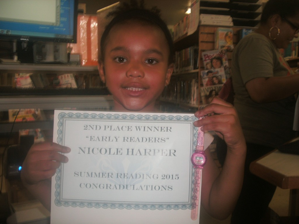 SRP 2015  Childrens 2nd Place NIcole  Harper