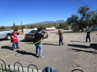 Harvest Party Hula Hoopin